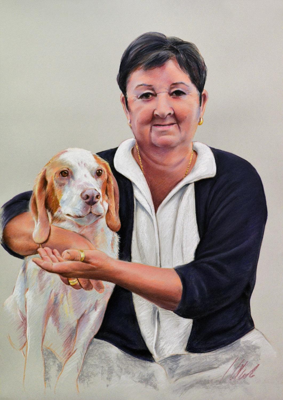 Pastel, 70 x 50 cm. Javier Olmedo, año 2019