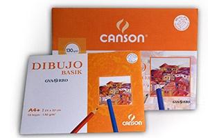 Papel de dibujo Canson