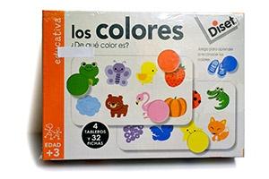 Los Colores, juego creativo Diset