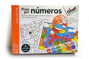 Pinta por números, de Diset