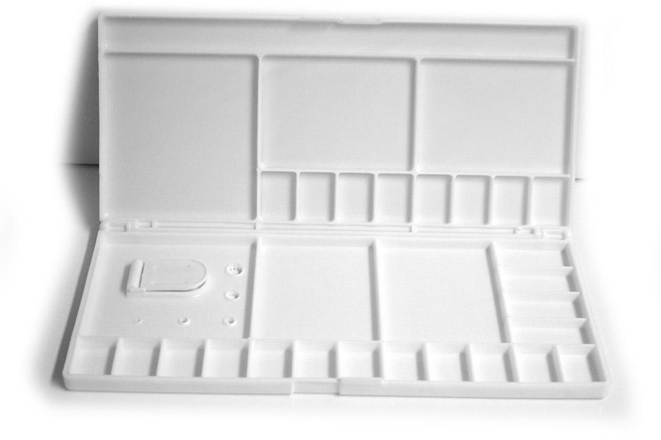 Caja paleta para acuarela