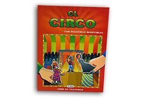 """Libro de pegatinas """"El Circo"""""""