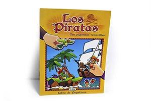 Libro de pegatinas «Los Piratas»
