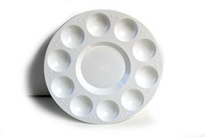 Paleta de plástico redonda