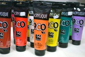 Tubo de acrílico Eco Wingo 120 ml