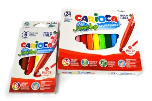Estuches de rotuladores Carioca Jumbo