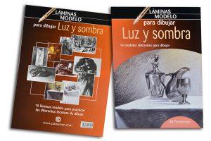 Láminas Modelo para dibujar Luz y Sombra