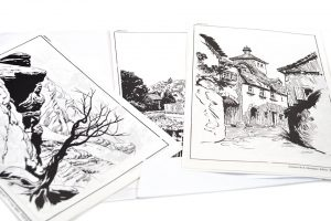Láminas de paisajes, Freixas