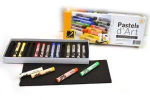 Caja de 15 tizas pastel Dalbe D'art