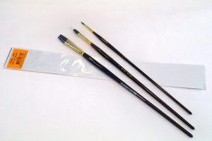 Set de pinceles ergonómicos acrílico y óleo Artist