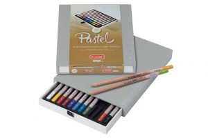 Lápiz pastel Bruynzeel, caja de 12 colores