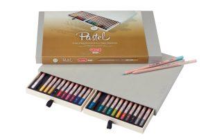 Lápiz pastel Bruynzeel, caja de 24 colores