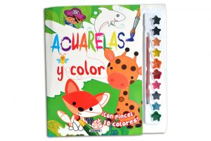 Acuarelas y color de Susaeta