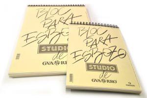 Bloc para esbozo Studio de Gvarro