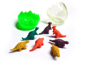Gomas de dinosaurio
