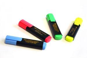Subrayador fluorescente Faber Castell
