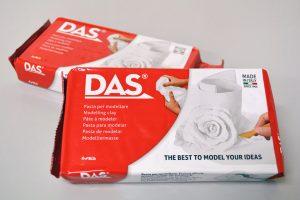 Pasta de modelar DAS