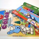 Lote pinturas PlastiAlpino y cuaderno Megacolor