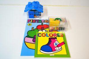 """Lote infantil """"Casita de Colores"""""""