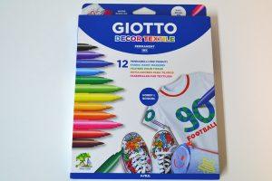 Rotuladores Giotto para tela