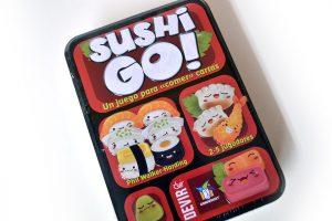 "Juego ""¡Sushi Go!"""