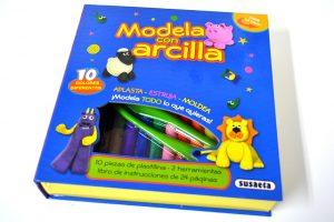 """""""Modela con Arcilla"""" de Susaeta"""