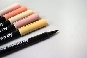 Brush Pen o Punta de Pincel