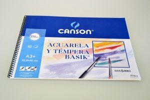 Bloc A3 Acuarela Canson