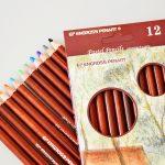 Caja de 12 lápices pastel Engross