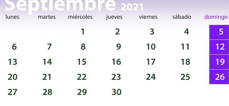 Septiembre 2021