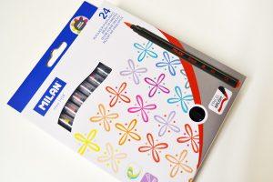 Brush Pen Milan, caja de 24 colores
